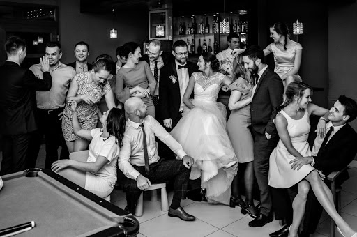 Wedding photographer Radek Kazmierczak (wildlight). Photo of 17.01.2018