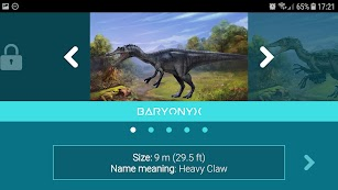 Discovering the Dinosaurs screenshot for Android