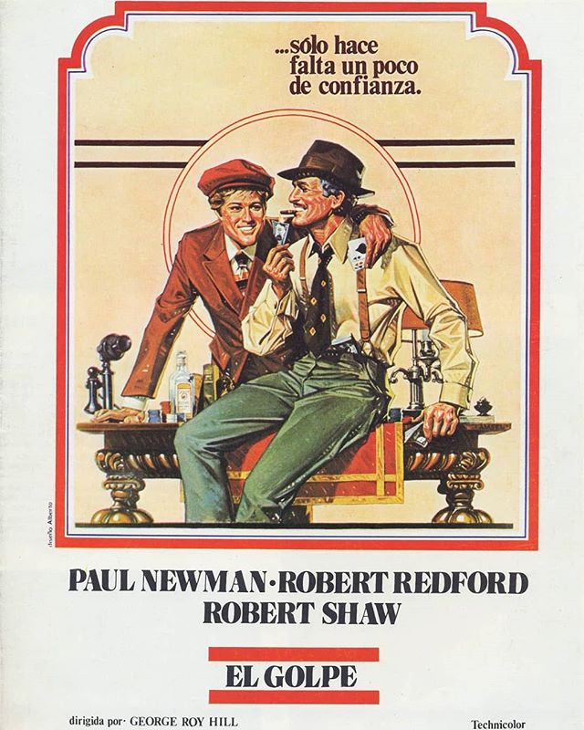 El golpe (1973, George Roy Hill)