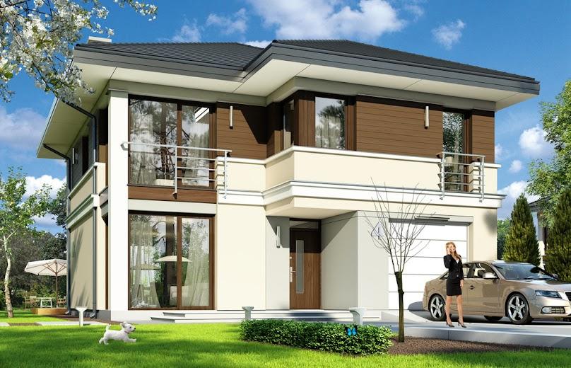 Projekt domu Tytan