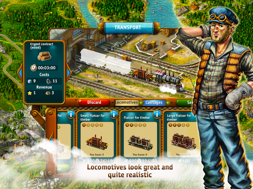 Transport Empire: Steam Tycoon - screenshot