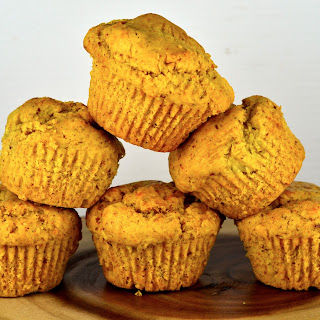 Ginger, Pear & Turmeric Muffins