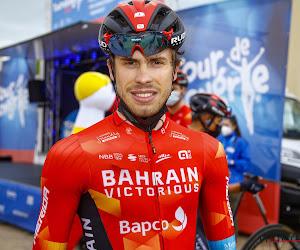 """Spurter van Bahrein Victorious opent meteen de rekening in Slovenië: """"Mogen nog meer overwinningen verwachten"""""""