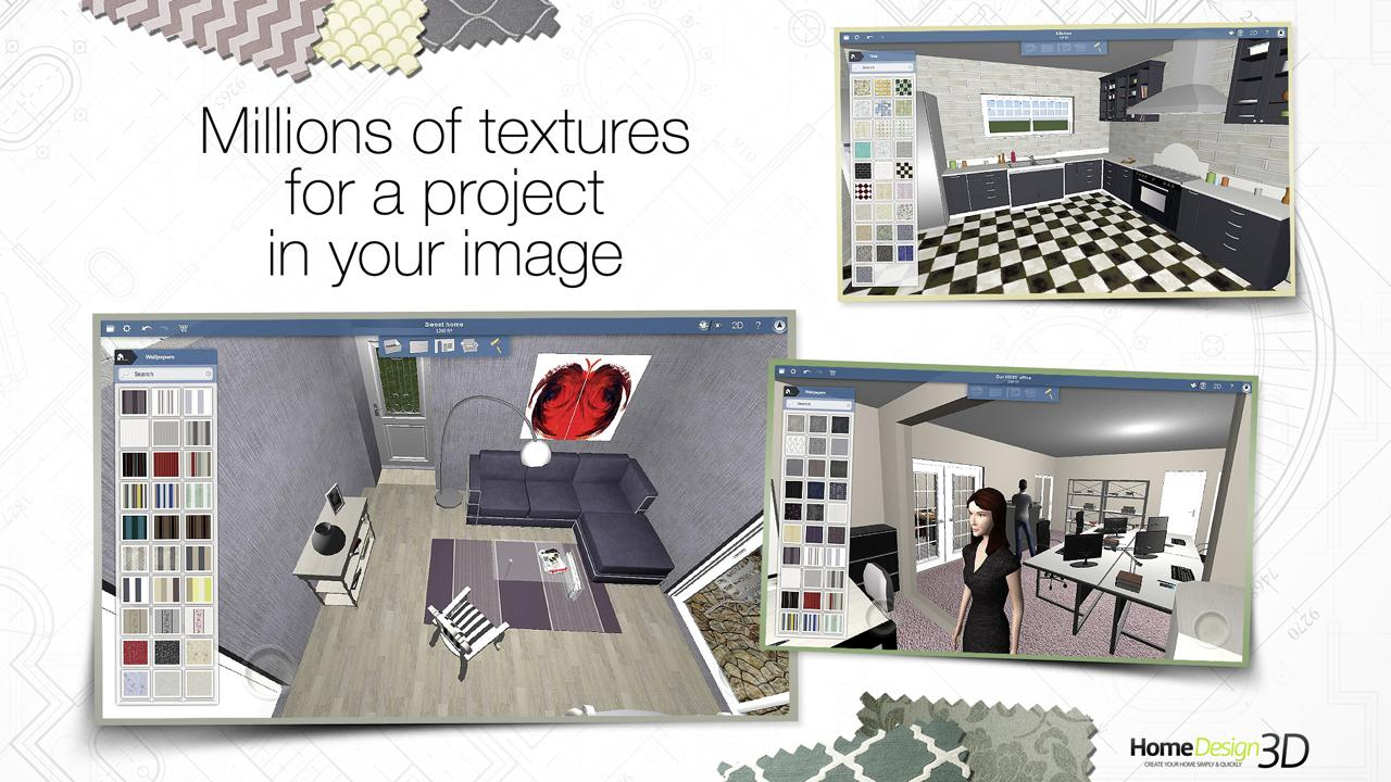 Screenshots of Home Design 3D - FREEMIUM for iPhone
