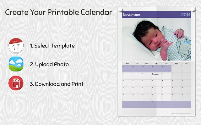 Calendar Design Your Own Free : Pically calendar creator chrome web store