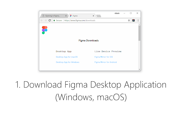 Figma (Open links in Application)