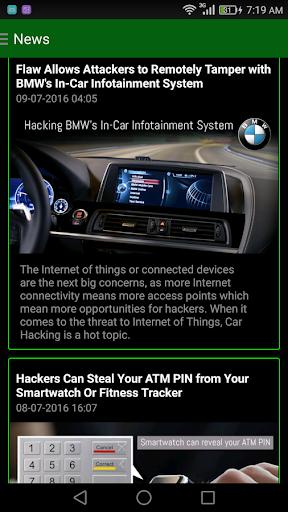 Geek App 2.0- Hacking Tutorials,News- Alien Skills 2.2 screenshots 5