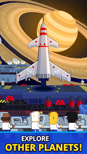 Rocket Star - Idle Space Factory Tycoon Game android2mod screenshots 3