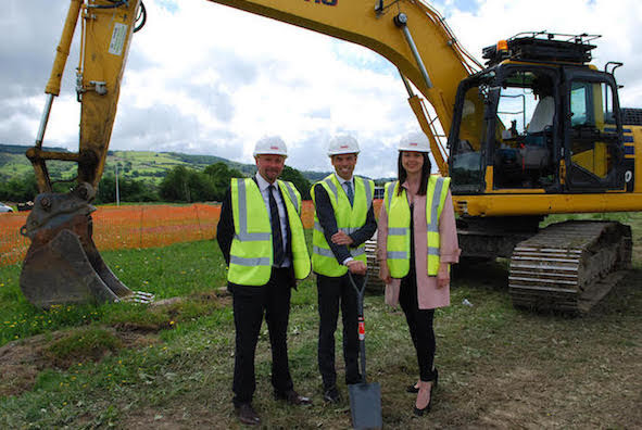 Ground broken on major Welshpool investment