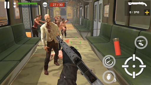 Dead Zombie Battle (Green Blood Version)  captures d'écran 2