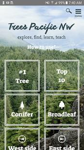 Trees PNW - náhled