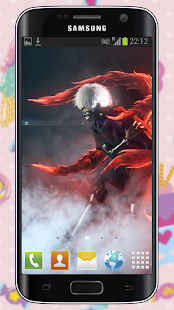 Anime Art Live Wallpaper of Ken Kaneki Hack for the game