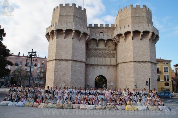 En las Torres de Serranos. #Elecció18