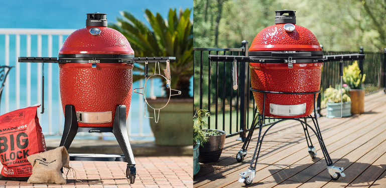 Kamado Joe Classic 3 vs 2 (2021): Charcoal Grill and Smoker Comparison -  Compare Before Buying