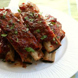 BBQ Red Pepper Jelly Spareribs Recipe