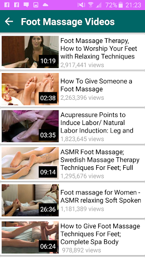 Massage Videos App 1.1 screenshots 8