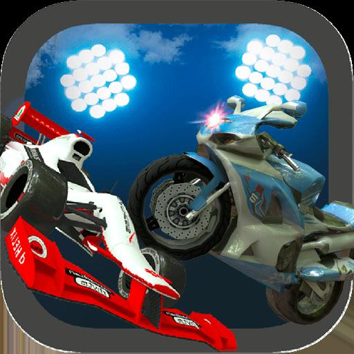 Motorbike vs Formula Cars