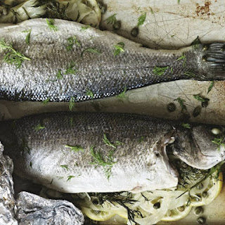 Sea Bass with Fennel, Lemon and Capers Recipe