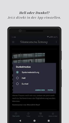 SZ.de - Nachrichten - Süddeutsche Zeitung 12.0.0 screenshots 1