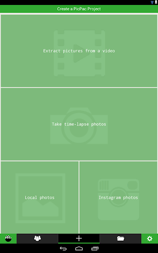 PicPac Stop Motion & TimeLapse 1.53 screenshots 9