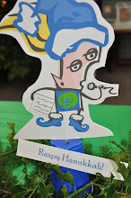 Photo: Raspy Hanukkah.