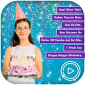 Birthday Video Maker With Music : Photo Slideshow Android APK Download Free By MaXmediA