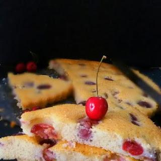 Fresh Cherry Cake.