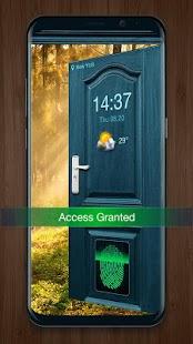 2018 Door Lockscreen with Fingerprint - náhled