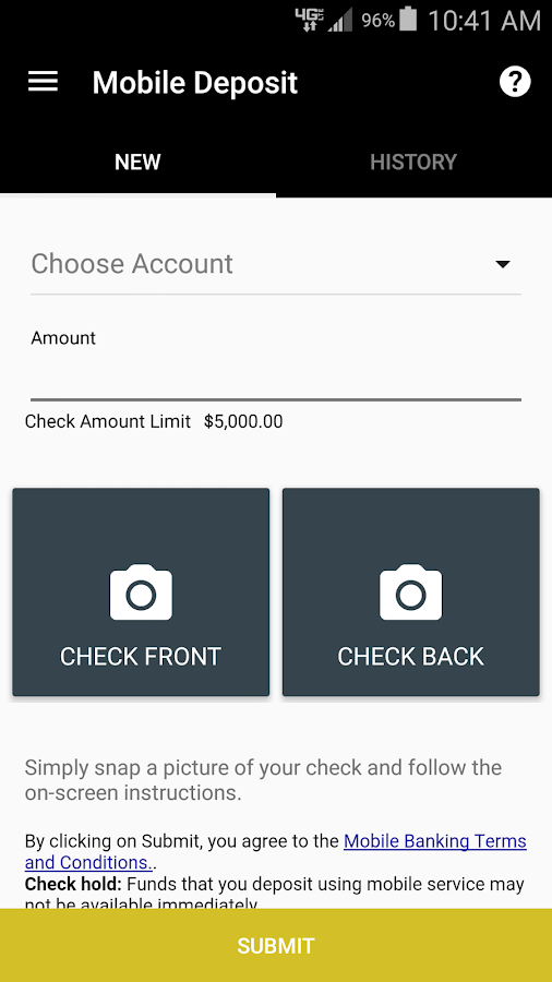 POPA FCU Mobile Banking- screenshot