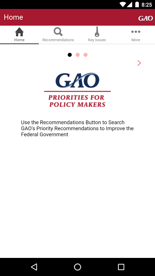 Priorities For Policy Makers- screenshot