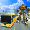 Real Bus Robot Transformation icon