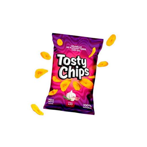snack tosty chips ajo 150gr