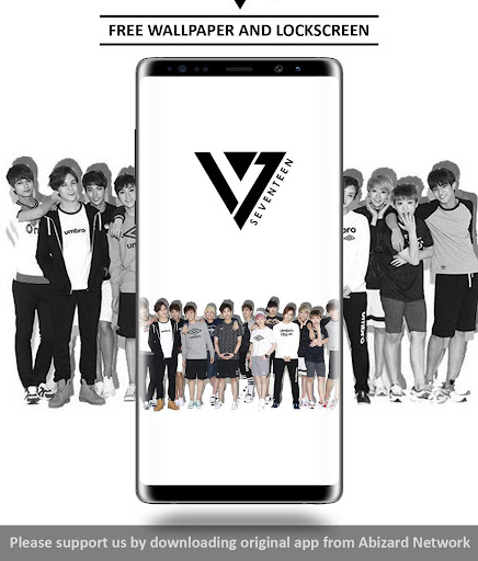 Seventeen Wallpaper KPOP 3.1 screenshots 2