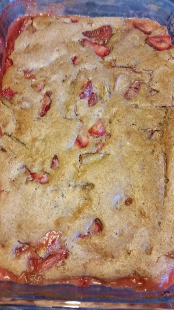Rhubarb-strawberry Cobbler Recipe