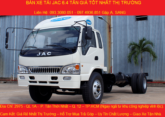 xe tải jac 6.4 tấn cabin chassi.png