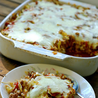 Cabbage Roll Casserole {deconstructed Cabbage Rolls}