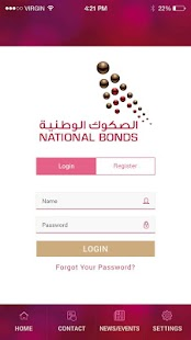 National Bonds Pocket App - náhled