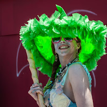 Photo: This is my 5th time photographing the Coney Island Mermaid Parade 2012. It is fabulous fun. But I mat not add any more photos of the parade here on G+ as I now have 2 photos that have been removed from public view. I find it ridiculous that I can post them on Flickr, FB and everywhere else. This is not pornography. And the 2nd photo is a costume, no bare breaks showing. WTF Google!!! #mermaidparade2012  www.leannestaples.com