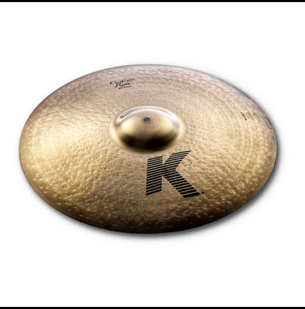 "20"" Zildjian K Custom - Brilliant Ride"