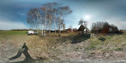 Photo: Švédský sloup mezi Laskowicemi a Raclawicemi Slaskie u hranic Polsko - ČR