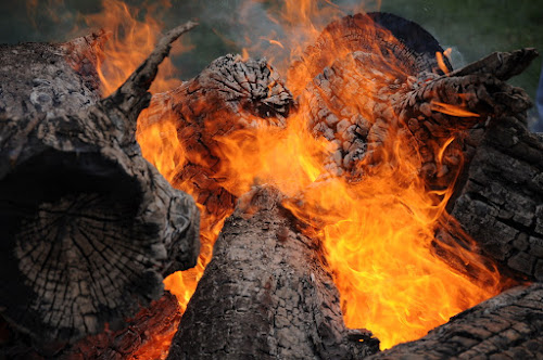 Easter fire by Dragutin Vrbanec - Novices Only Abstract ( holiday, easter, heat, fire )