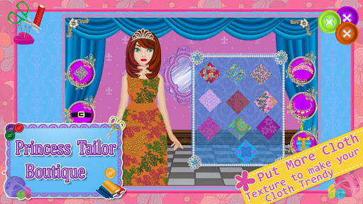 Princess Tailor Boutique Games 1.19 screenshots 9