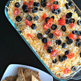 Meat Lovers Mexican Dip.