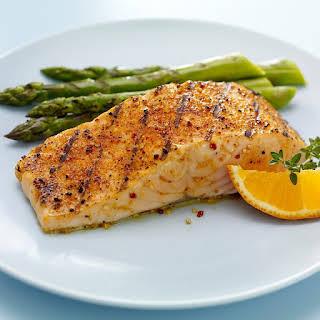 Wine, Herb and Lemon Seafood Rub for Salmon.