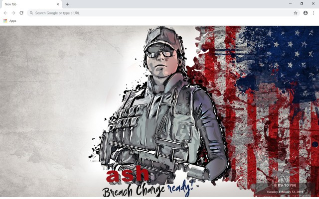 Rainbow Six Siege Wallpapers and New Tab