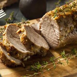 Slow Cooker Pork Loin Roast.