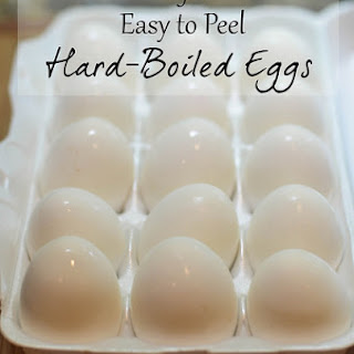 Perfect Easy to Peel Hard-Boiled Eggs Recipe