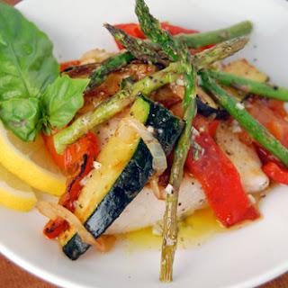 Mahi Mahi & Vegetable Medley w/ Lemon Basil Vinaigrette