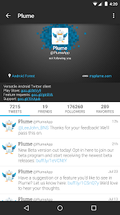Plume for Twitter- screenshot thumbnail