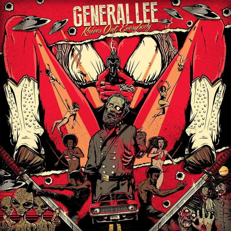 General Lee - Knives Out, Everybody! (2015)